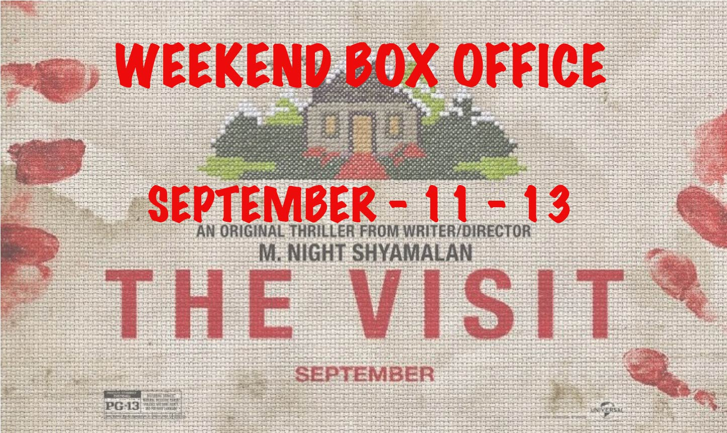 weekend box office september 11 13 2015 everything movie reviews. Black Bedroom Furniture Sets. Home Design Ideas