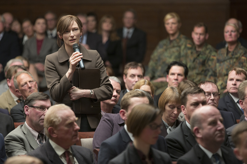 Tilda Swinton in War Machine.