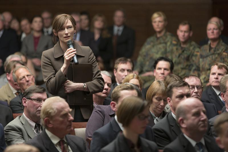 Tilda Swinton in War Machine.